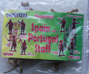 Chin Toys 1/32 CT008 Staff of Spain & Portugal (Napoleonic)